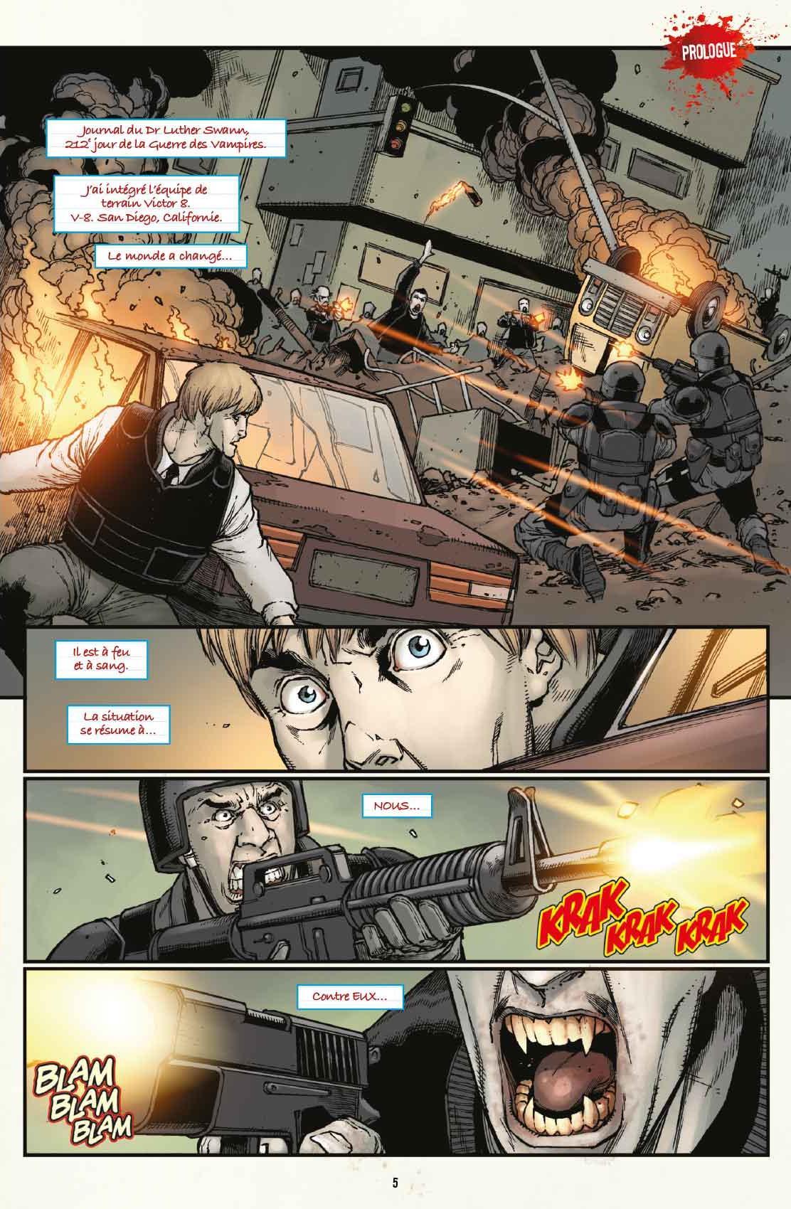 V-Wars comics