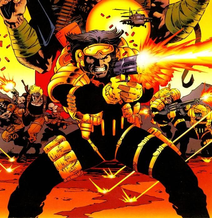 looks Wolverine team x