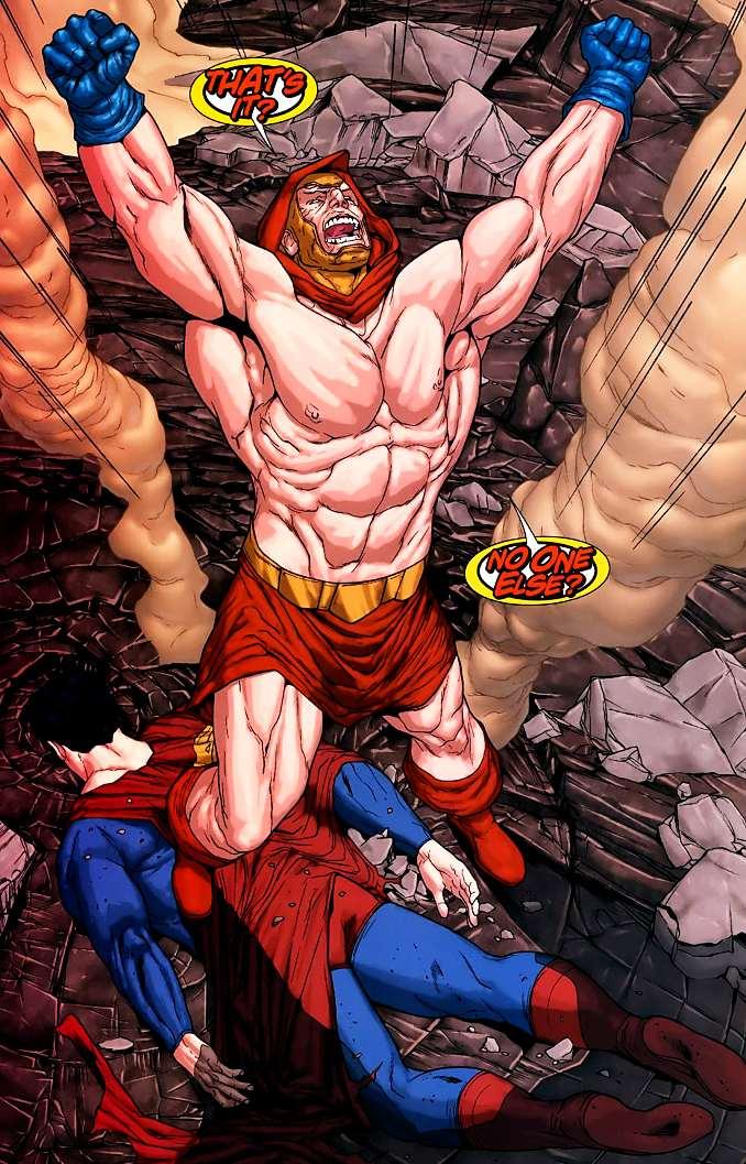 superman vaincu atlas
