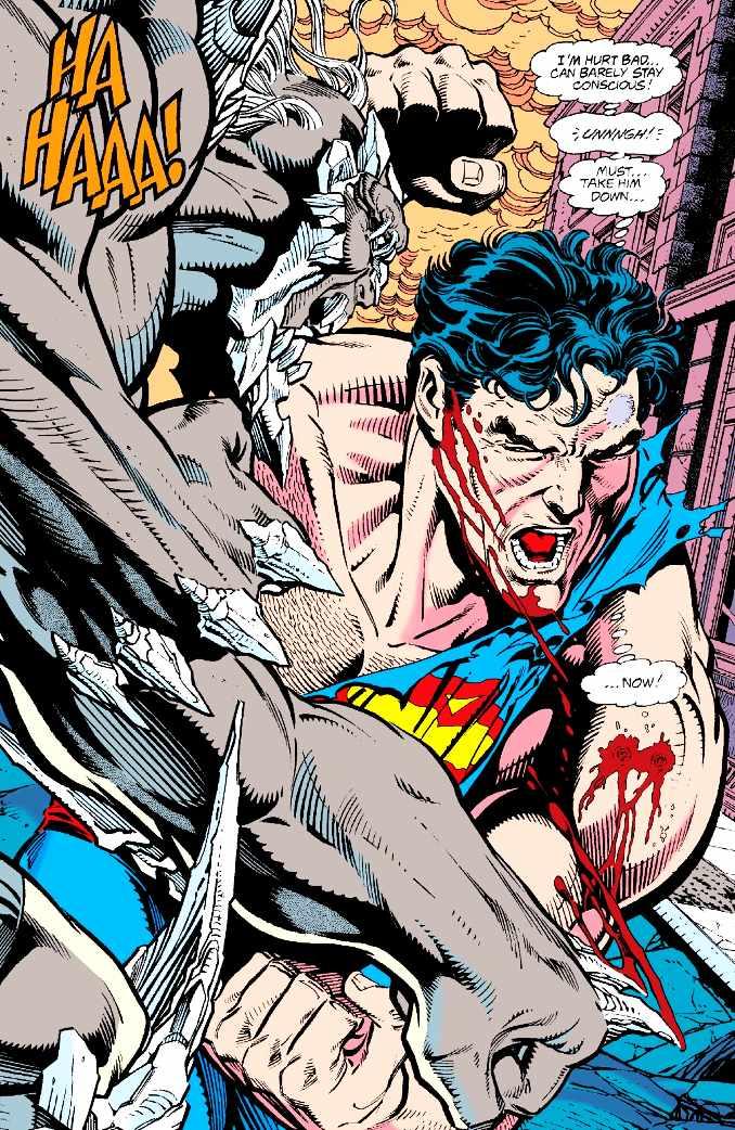 superman vaincu domsday