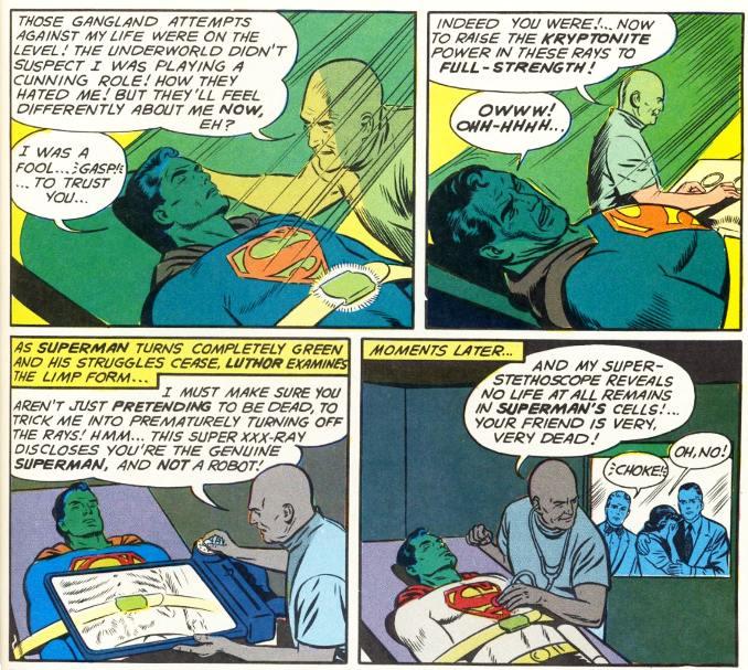 superman vaincu lex luthor