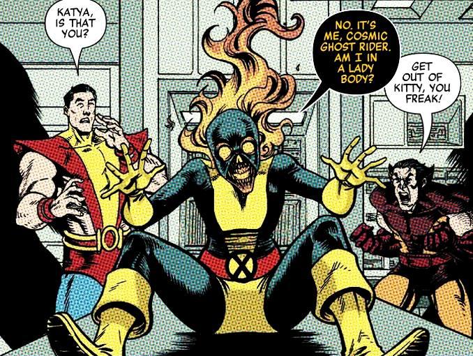 Ghost RIder Cosmique détruit Marvel