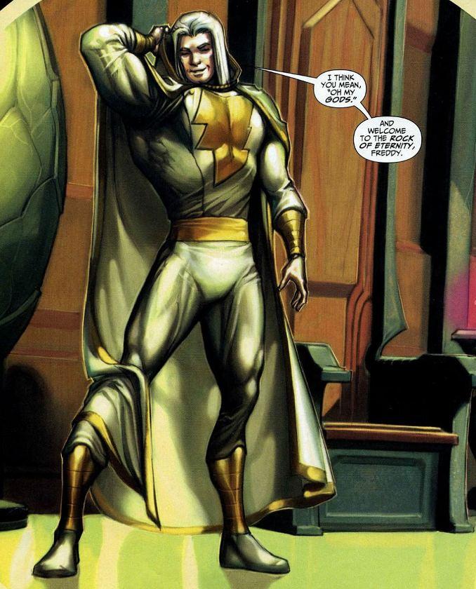 captain marvel blanc plus forts que Superman