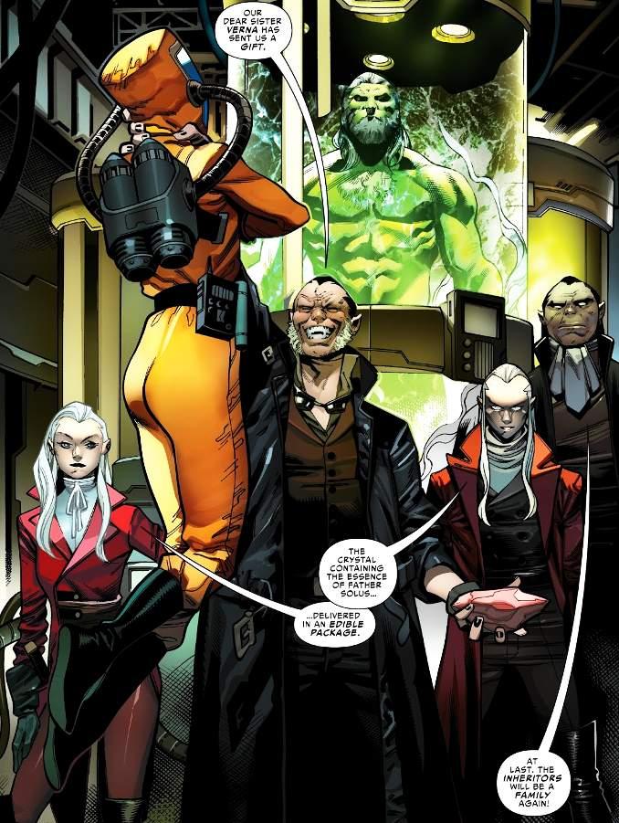 clone Marvel héritiers