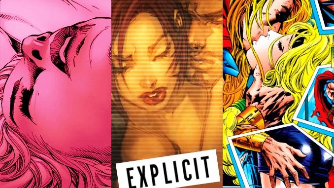 comics erotiques marvel dc