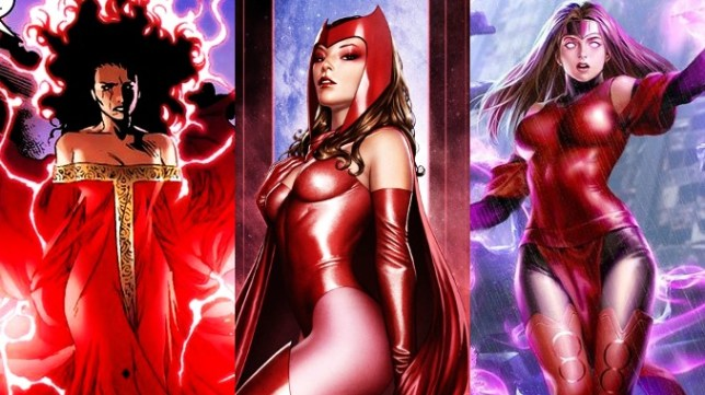 sorcière rouge wanda maximoff
