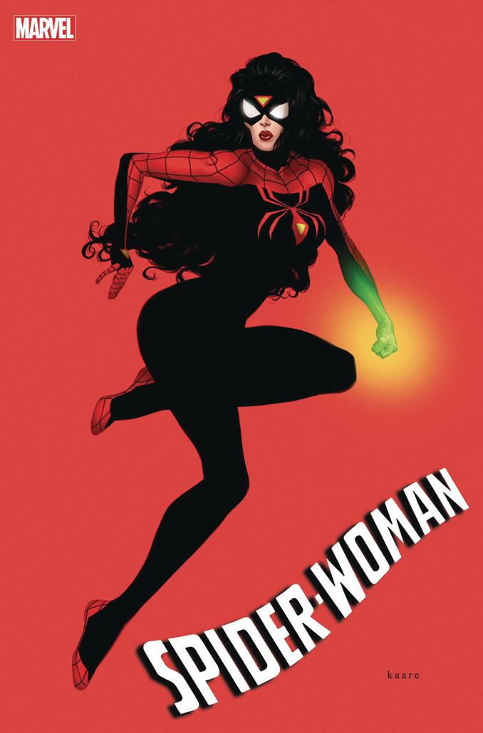 variant covers Spider-woman n°1 kaare andrews