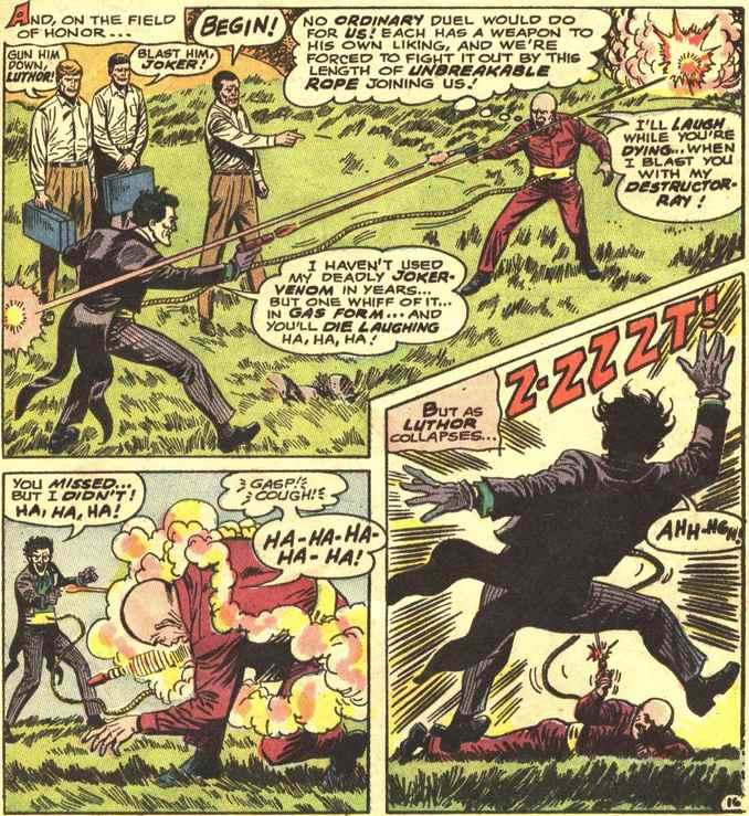 Luthor affronte le Joker en duel