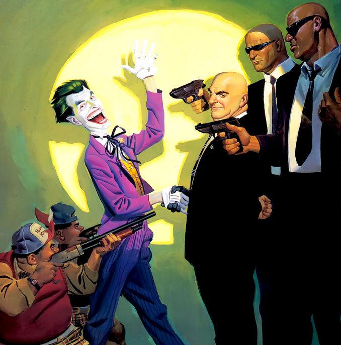 Règlement de comptes entre Lex Luthor et le Joker