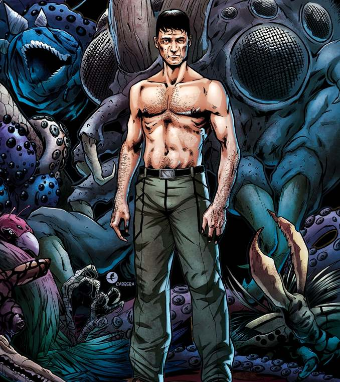 Caliban Garth Ennis