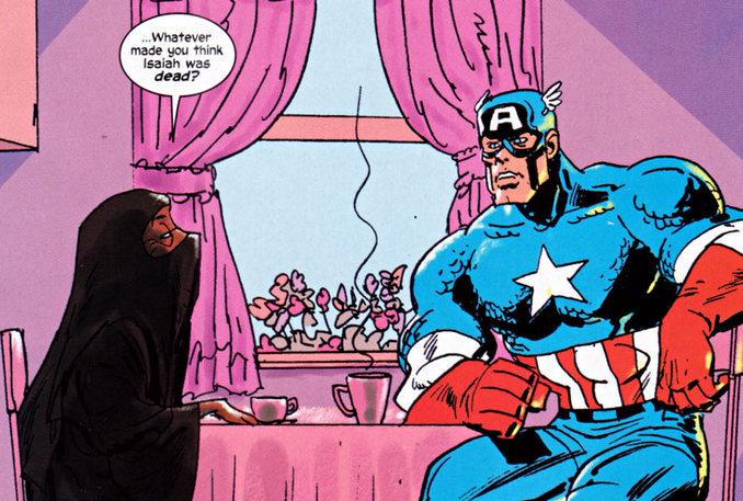 Truth Captain America