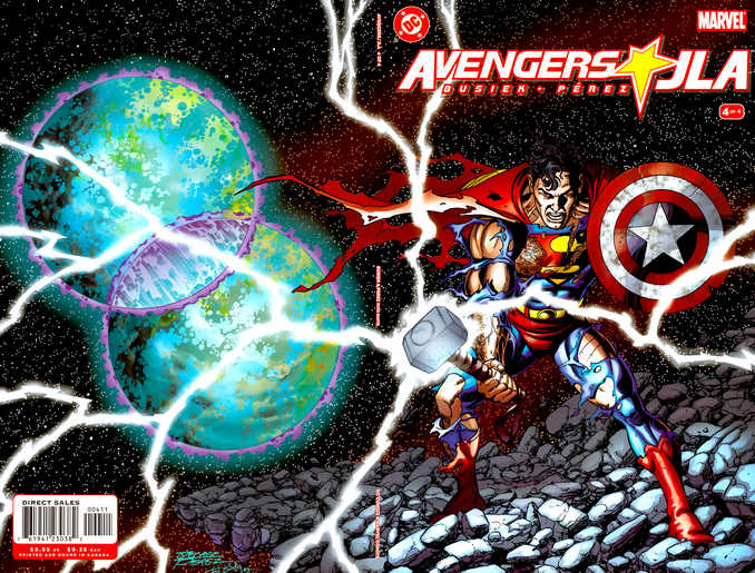 Superman Mjolnir bouclier Busiek Perez