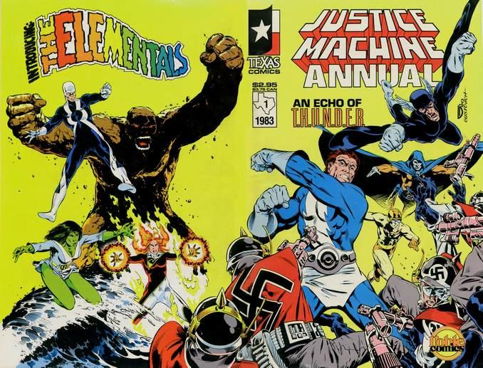 Justice Machine Elementals THUNDER Agents