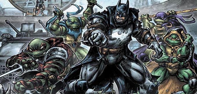 Batman & Tortues Ninja Assemble !
