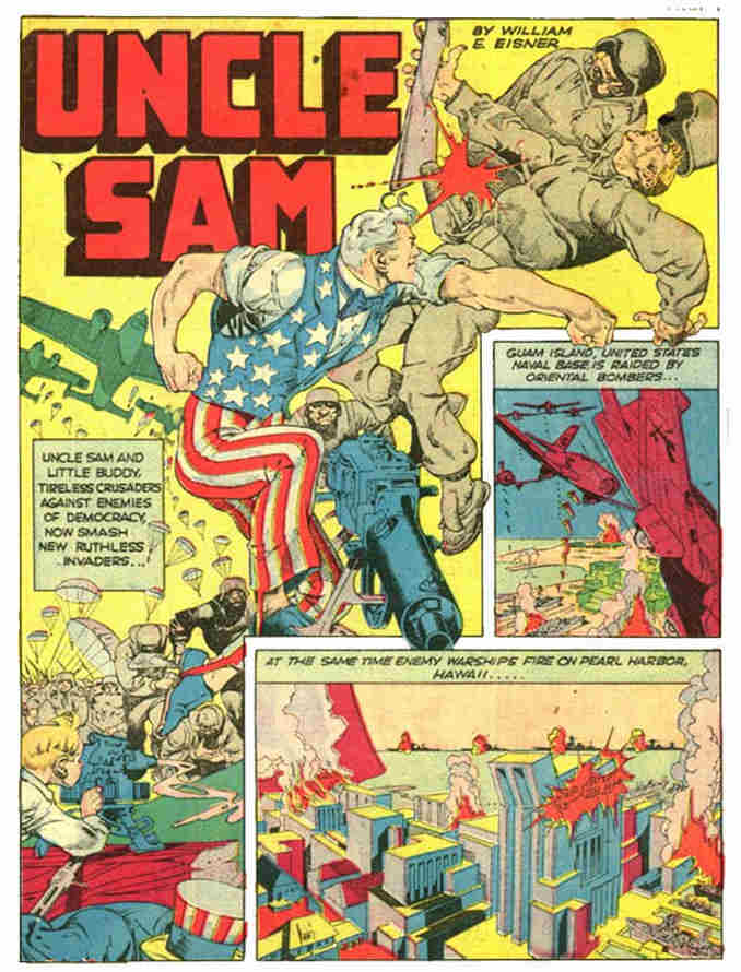 Uncle Sam Will Eisner