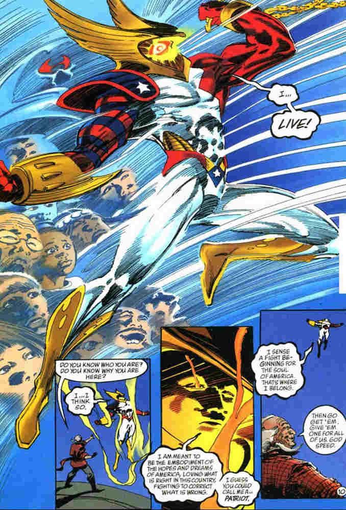 Patriot DC Comics