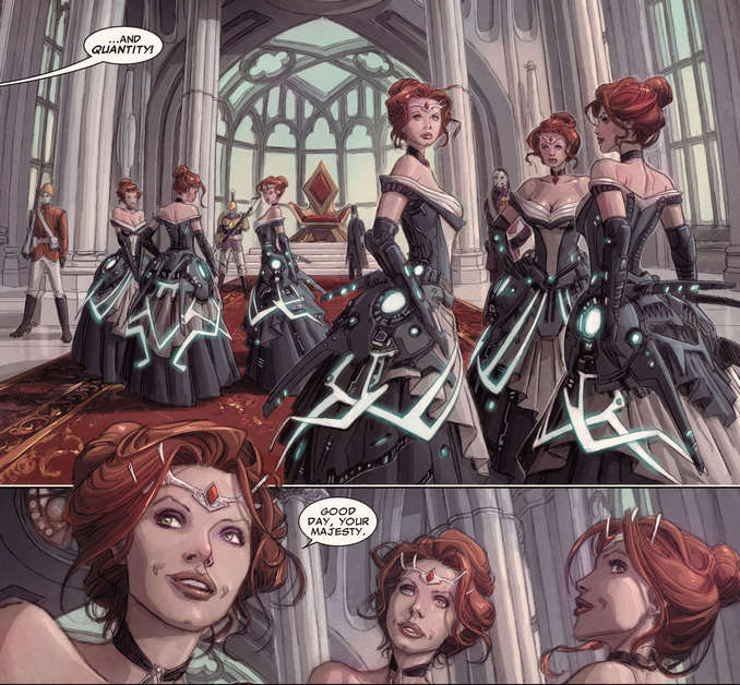 Clones de Madelyne Pryor Sinister AvX