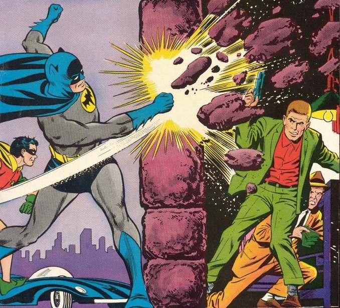 Batman et son poing d'acier !