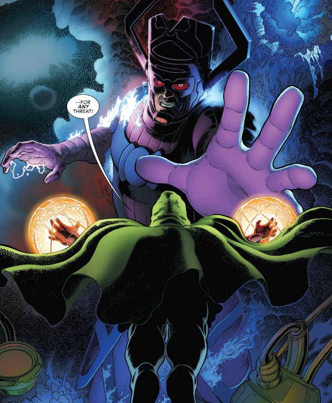 Fantastic Four tome 3 Galactus Fatalis