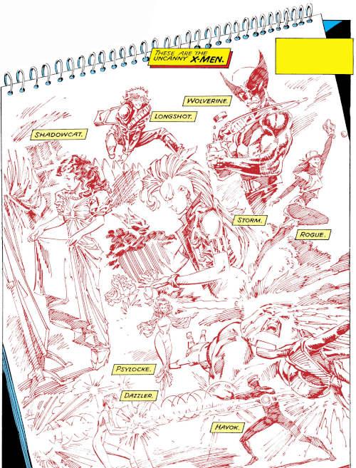 x-men dessinateur