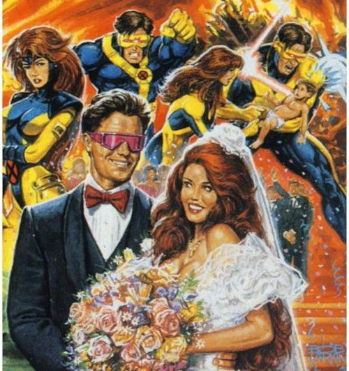 mariage jean grey scott summers