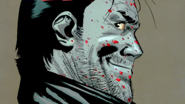 walking dead negan lives zombies