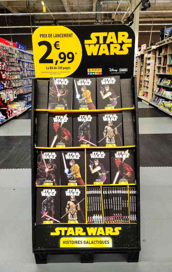 collection carrefour star wars