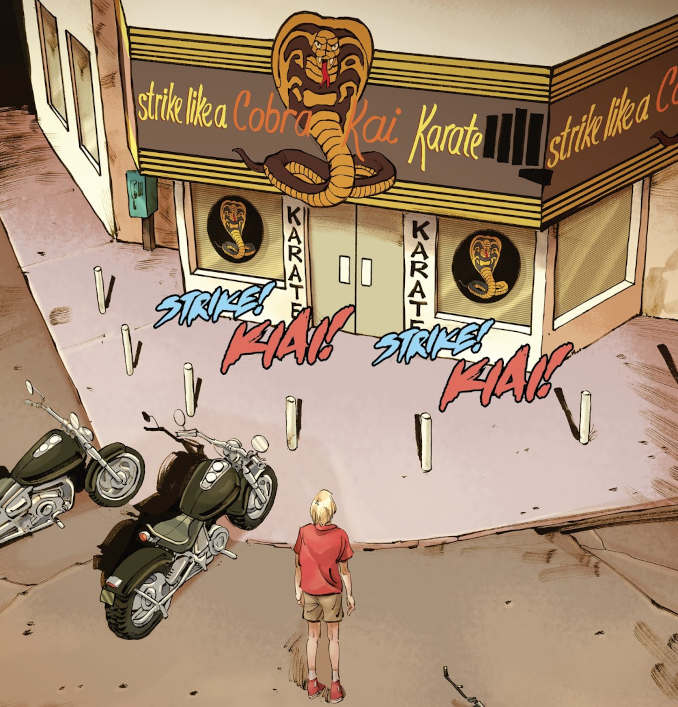cobra kai comics