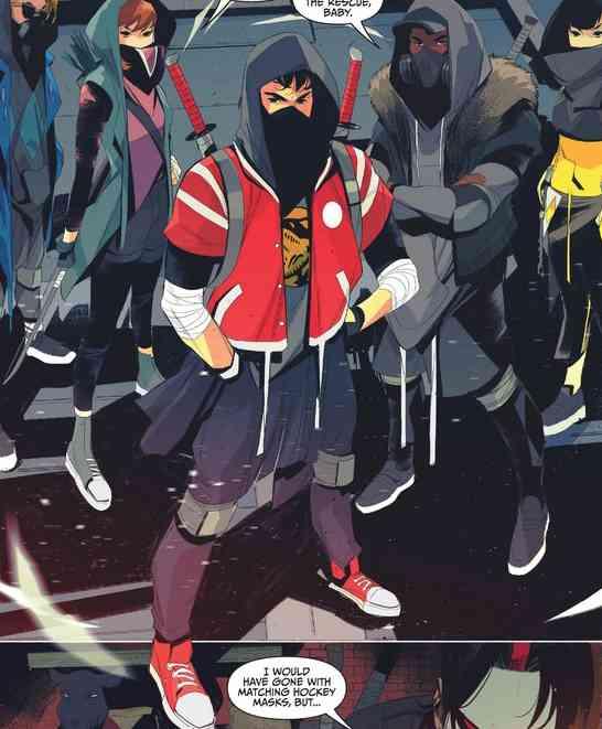 Here comes the Power Ninja !