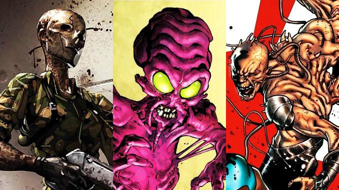 X-men vilains oubliés monstrueux