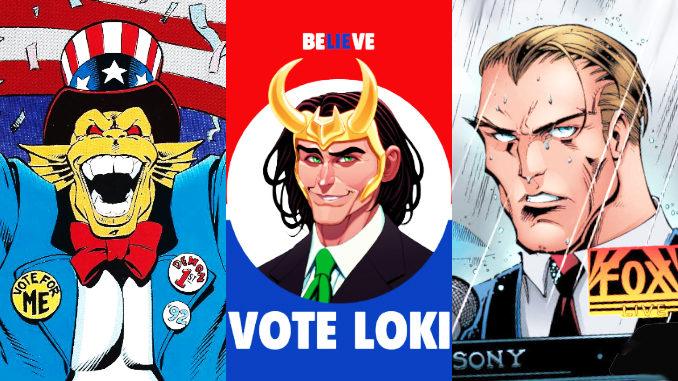 comics élections présidentielles américaines
