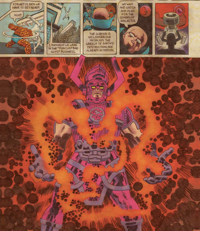 comics Fantastic Four Grand Design