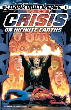 Tales From Dark Multiverse - Crisis On Infinite Earths Couv
