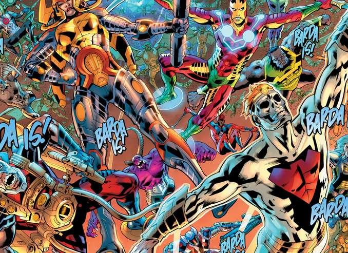 Dark Multiverse Flashpoint New Gods