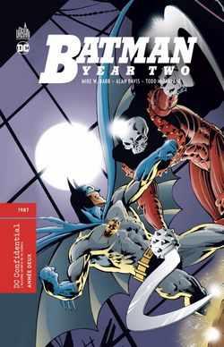 Batman Année Deux couverture