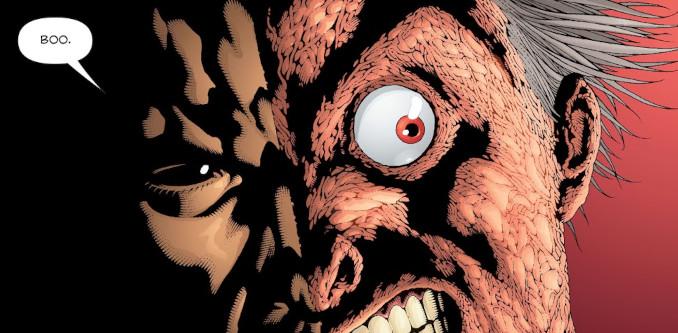 batman arkham double face
