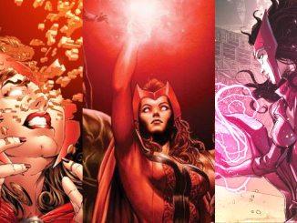 comics pouvoirs sorciere rouge