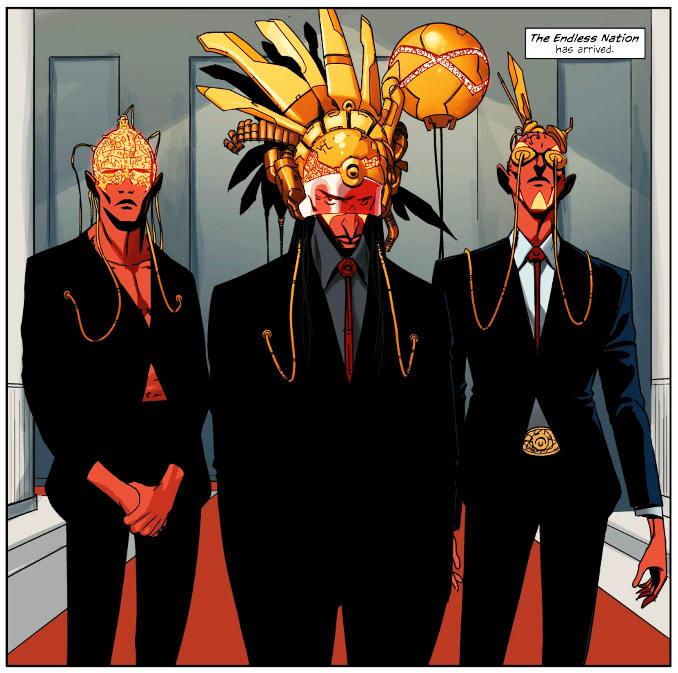 East of West Hickman comics