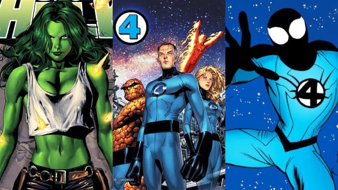 20 persos comics qui ont rejoint les 4 Fantastiques