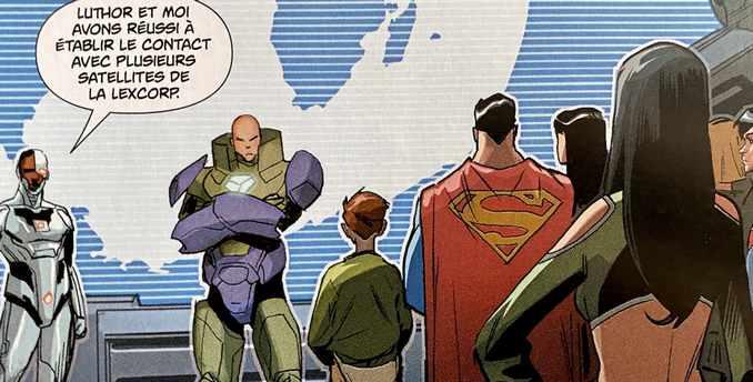 Dceased Luthor Olsen Superman
