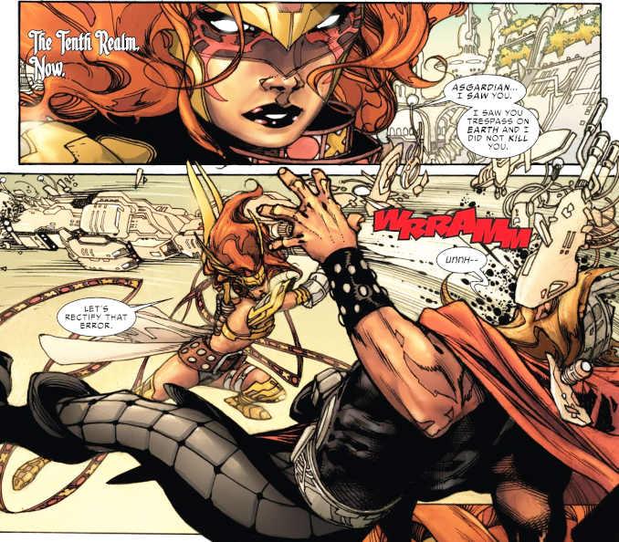 comics femmes musclées