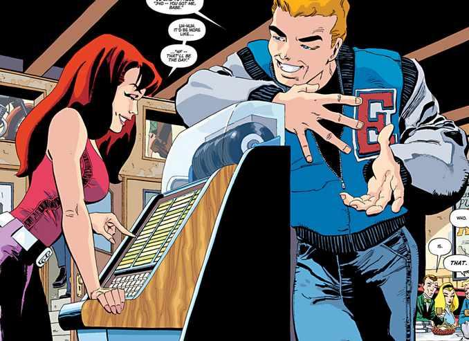 Spider-Man : Bleu -MJ & Flash