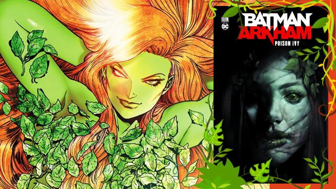 comics Batman Arkham Poison Ivy