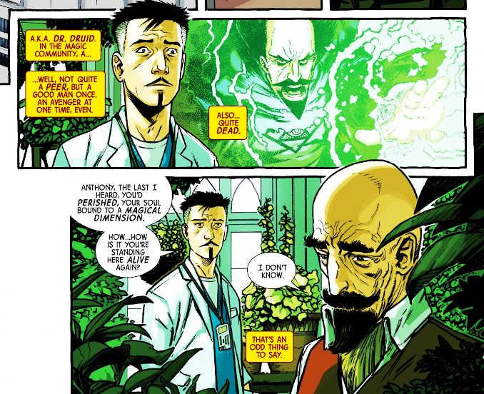 Dr Strange chirurgien supreme