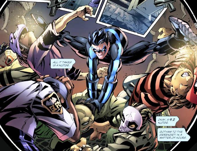 Batman Mythology alliés amis