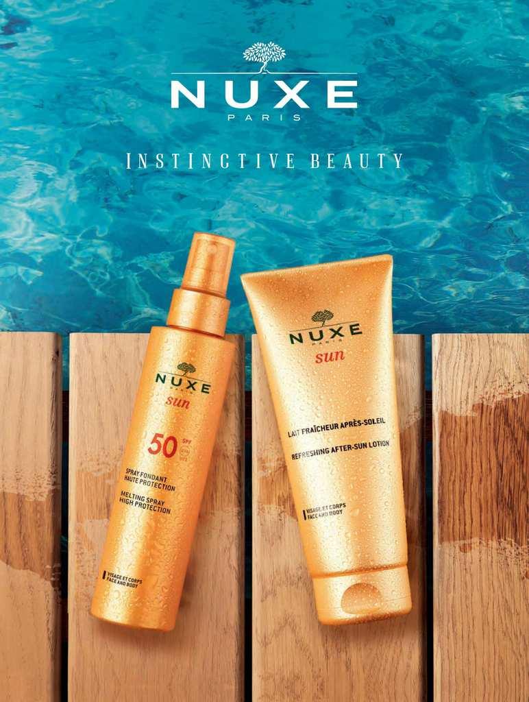 Αντηλιακη προστασια με Nuxe