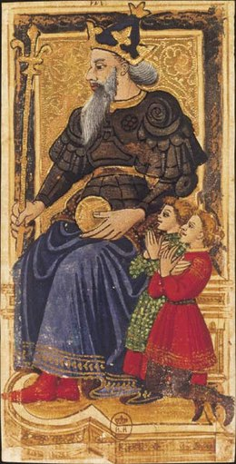 tarotkaarten de keizer