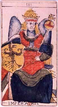 Tarotkaart de keizerin