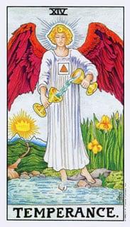 Matigheid Tarotkaart