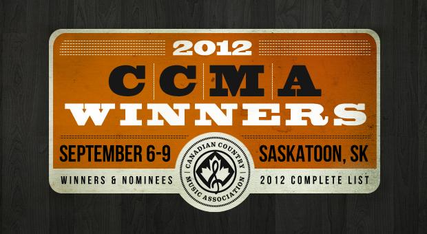 2012 CCMA Winners List